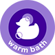 Step 1  - Warm Bath - JOHNSON'S® BABY