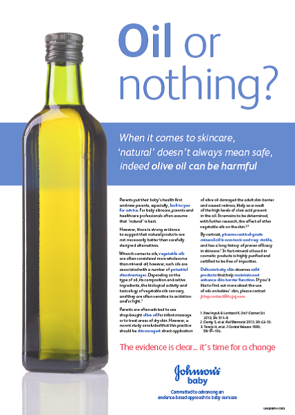 Oil or Nothing PDF - JOHNSON'S® BABY