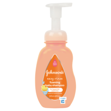 JOHNSON'S® Easy-Rinse Foaming Baby Shampoo