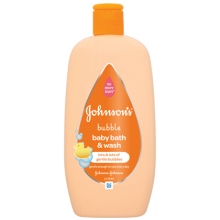 JOHNSON'S® Bubble Baby Bath & Wash