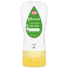 JOHNSON'S® Camomile Baby Oil Gel