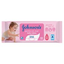 JOHNSON'S® Gentle All Over Baby Wipes