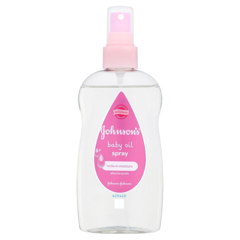 JOHNSON'S® Baby Oil Spray
