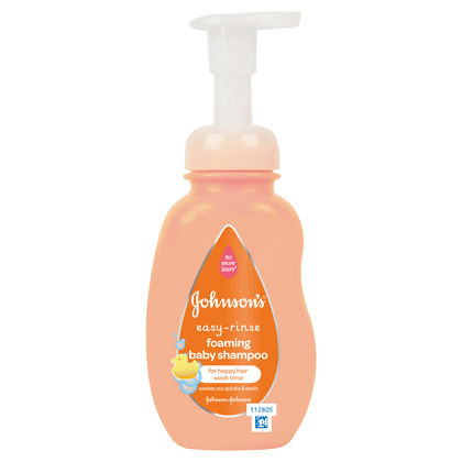Easy Rinse Foaming Shampoo - JOHNSON'S® BABY