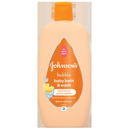 Bubble Baby Bath & Wash - JOHNSON'S® BABY
