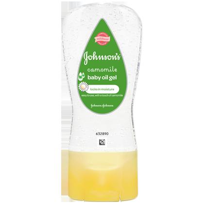 Baby Oil Gel Camomile - JOHNSON'S® BABY