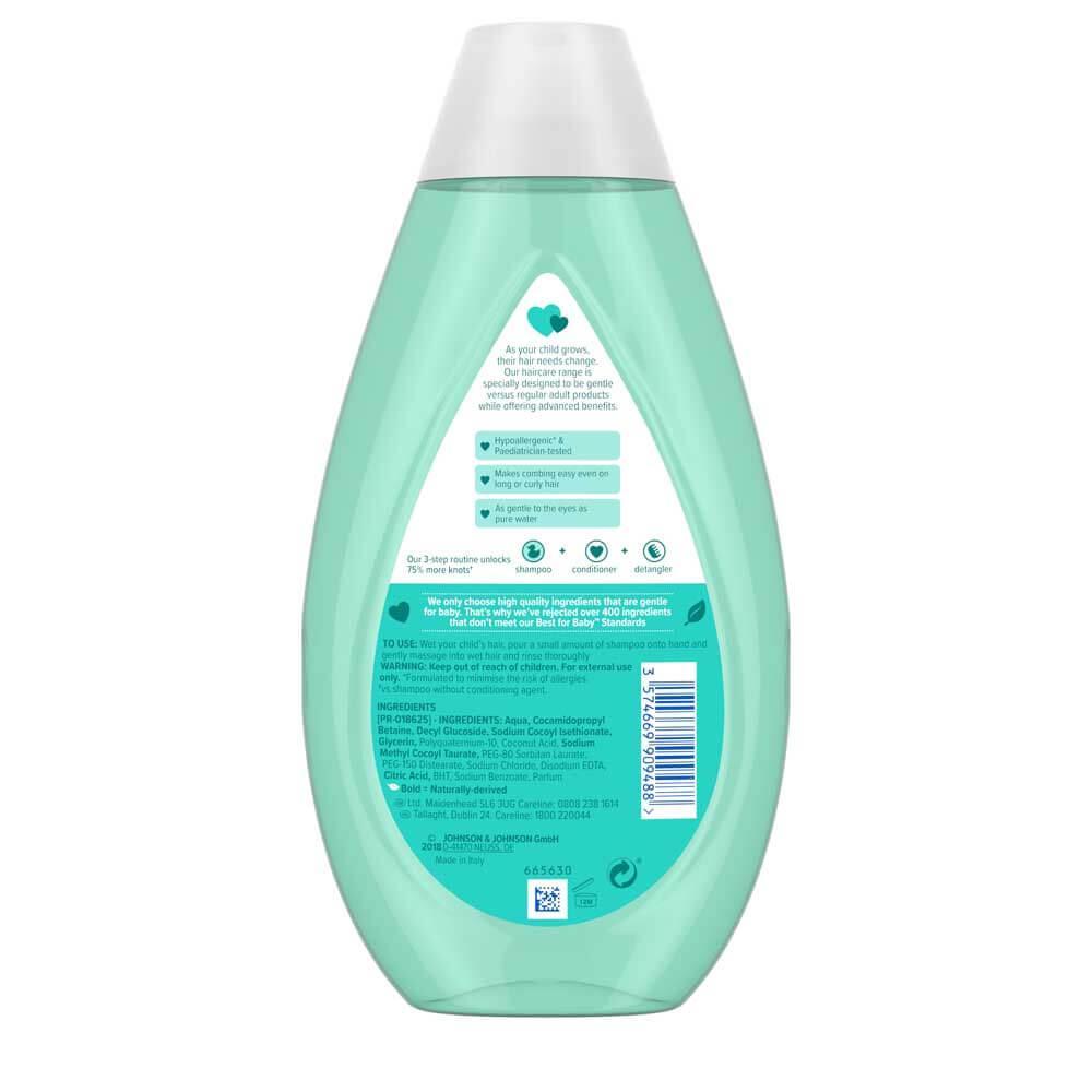 No More Tangles™ Kids Shampoo | JOHNSON'S® Baby