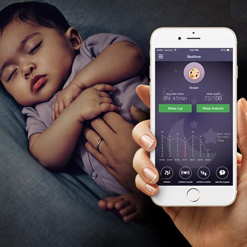 Bedtime Baby Sleep App - JOHNSON'S® BABY