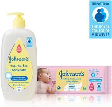 Johnson's Top to Toe Range  - JOHNSON'S® BABY