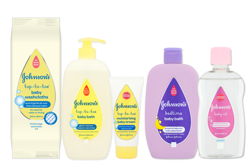 Products - JOHNSON'S® BABY