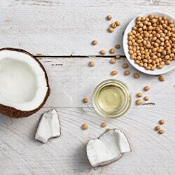 natural coconut ingredients