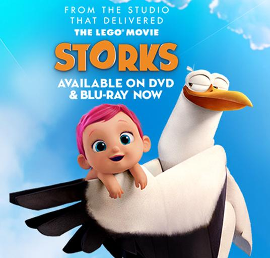 Get a free STORKS soft toy