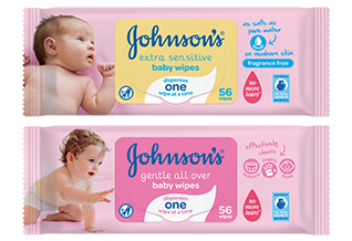Our Baby Wipes are Mumsnet Rated - JOHNSON'S® BABY